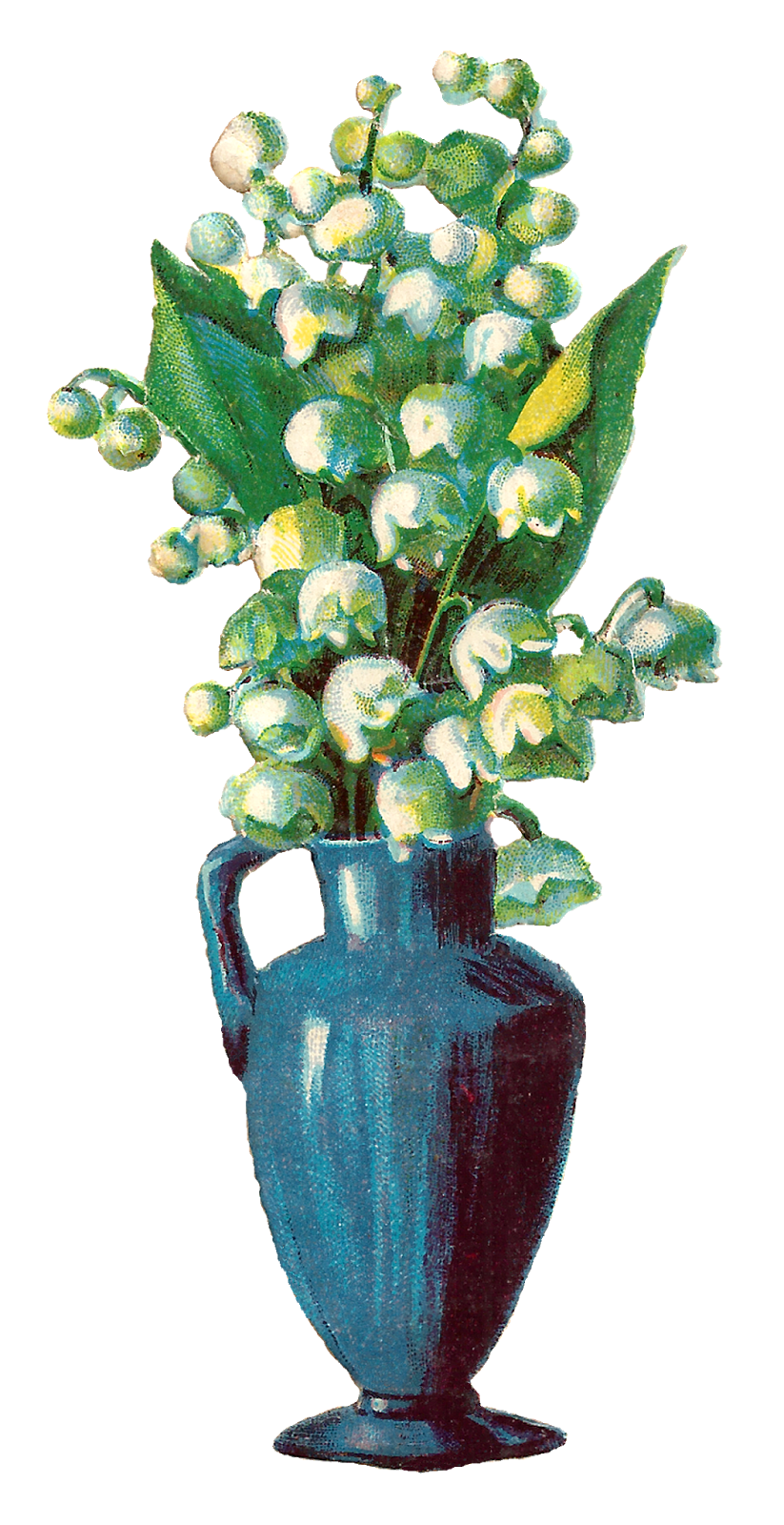 Antique images free printable. Clipart flower vase