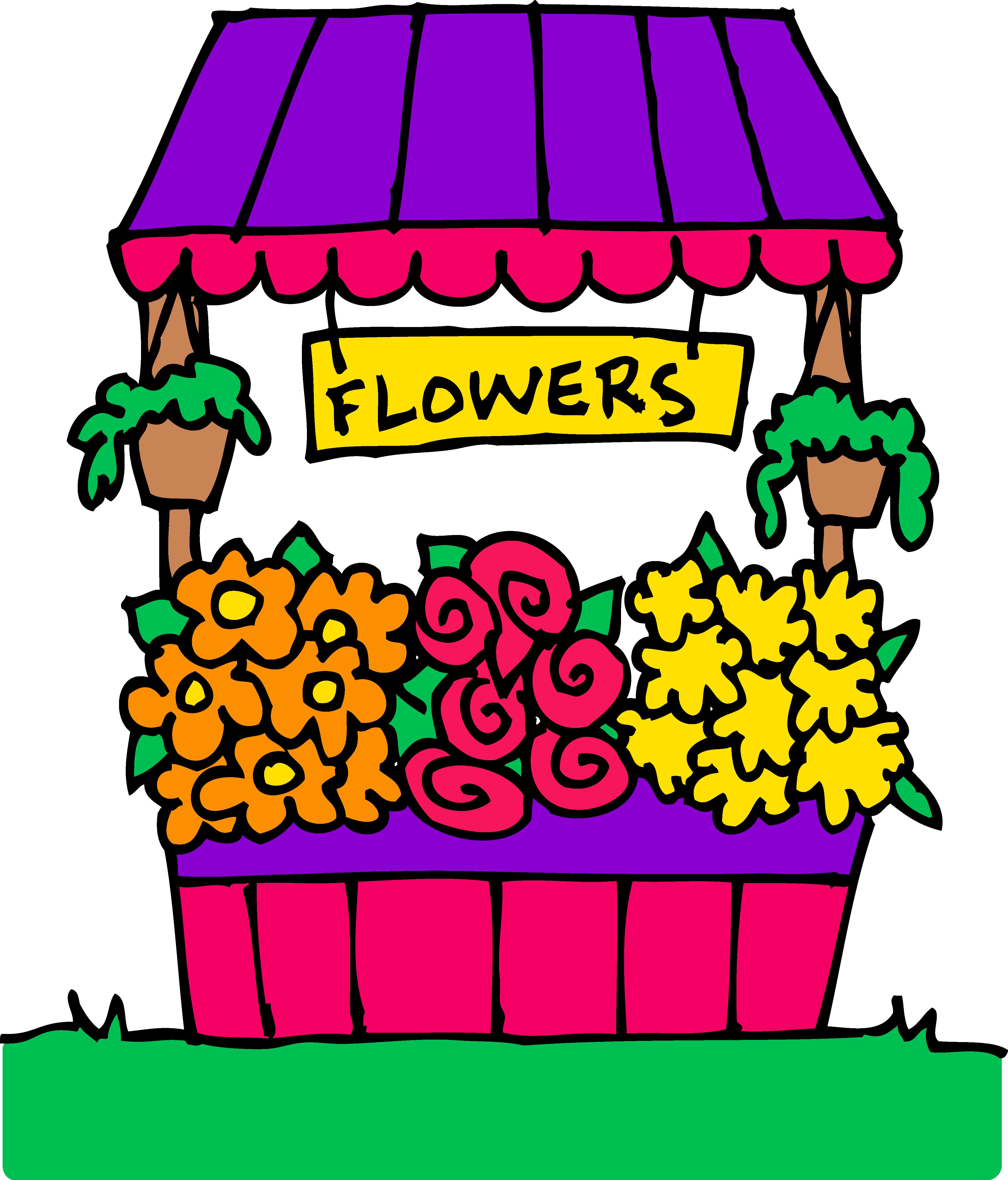 Florist clipground clip art. Shop clipart sari sari store