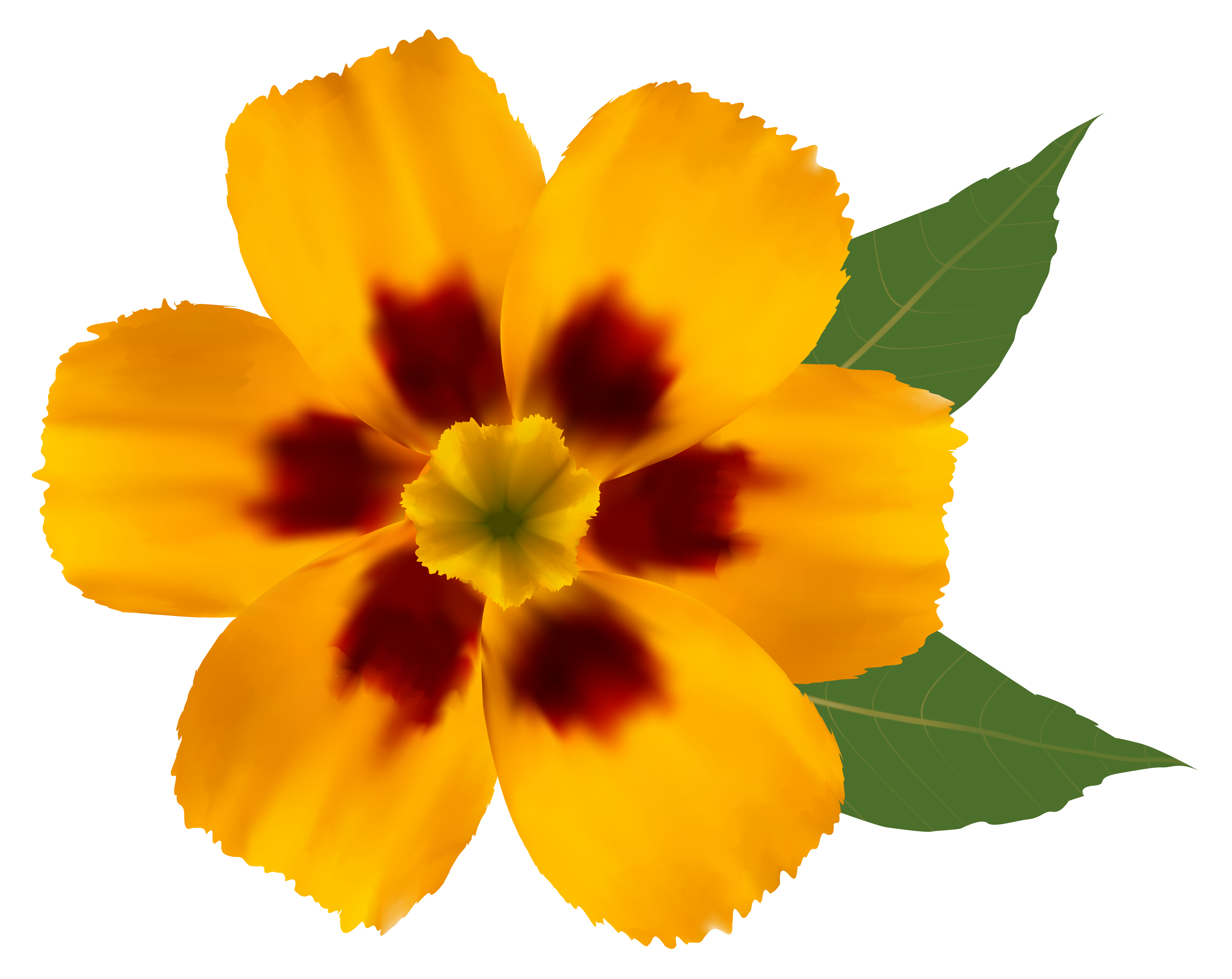 Yellow flower png. Clipart image gallery yopriceville