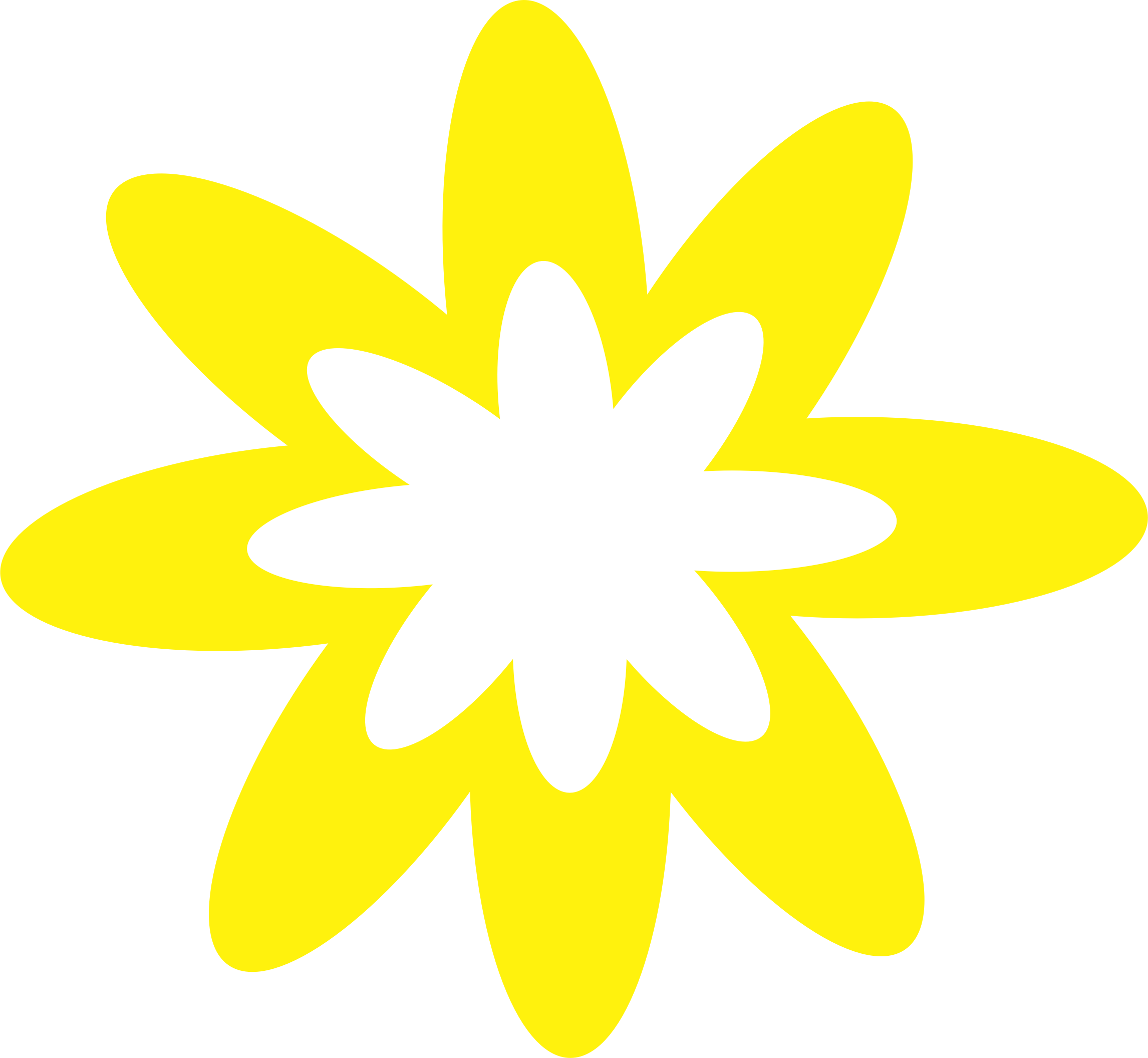 Burst big image png. Clipart flower yellow