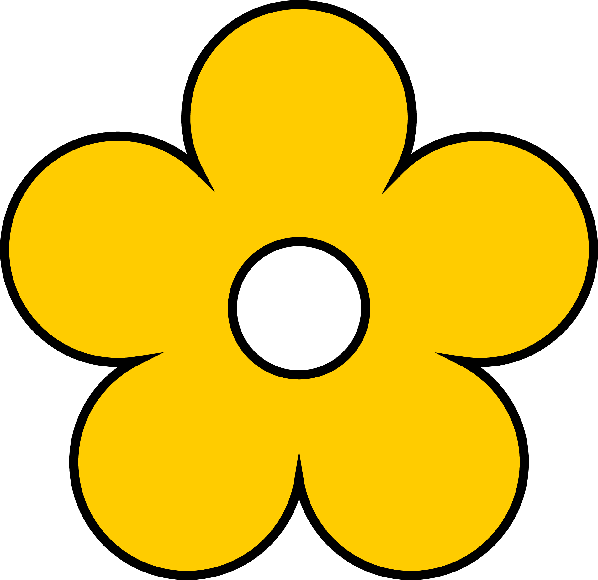 Club penguin flower thepix. Flowers clipart yellow
