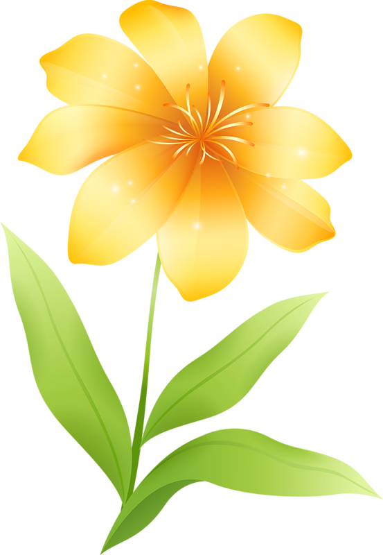 Flower gallery yopriceville high. Flowers clipart yellow