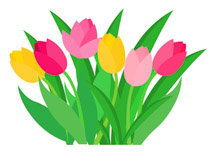 Image result for tulips animated