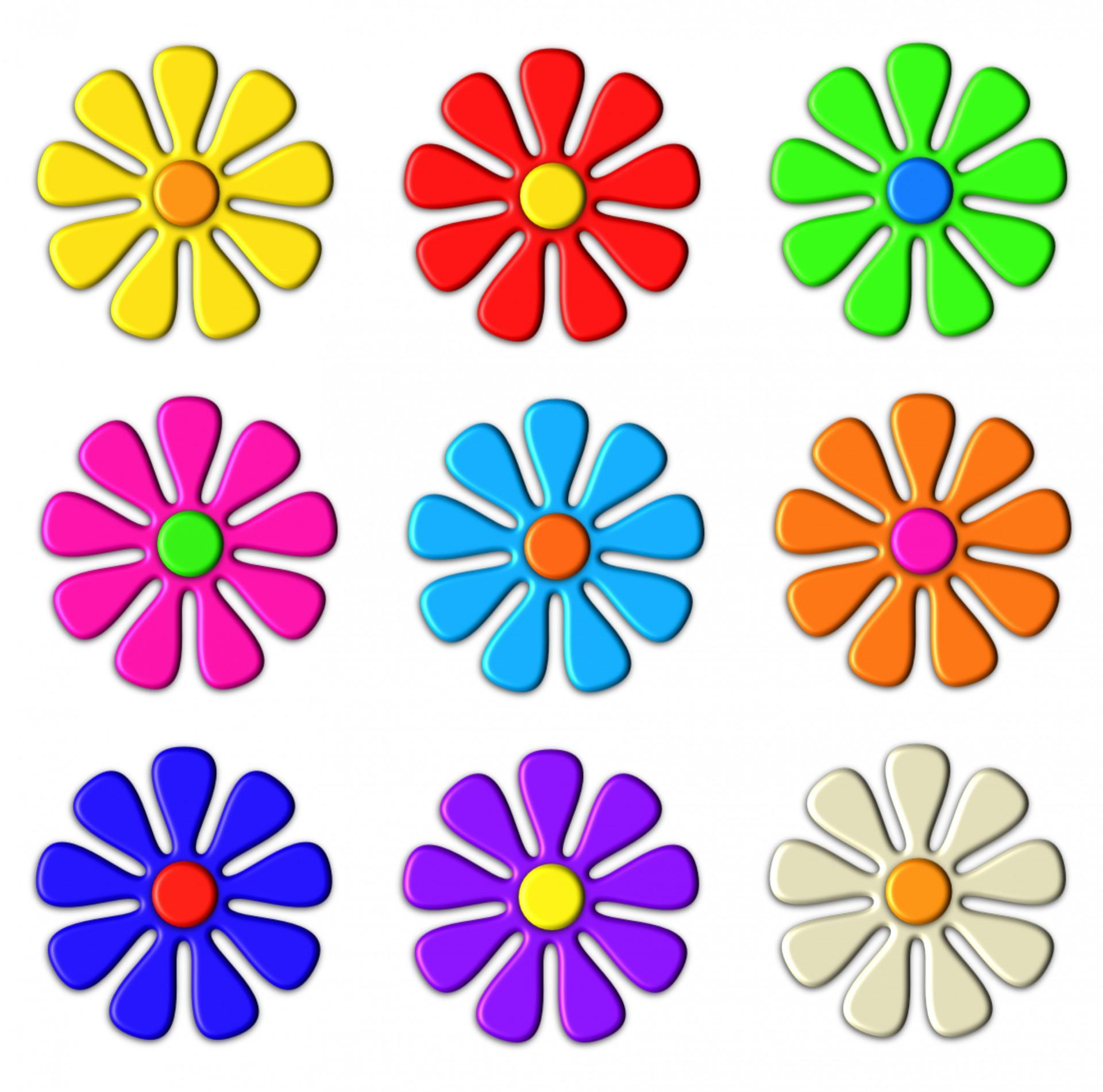 Clipart flowers.  d flower clip