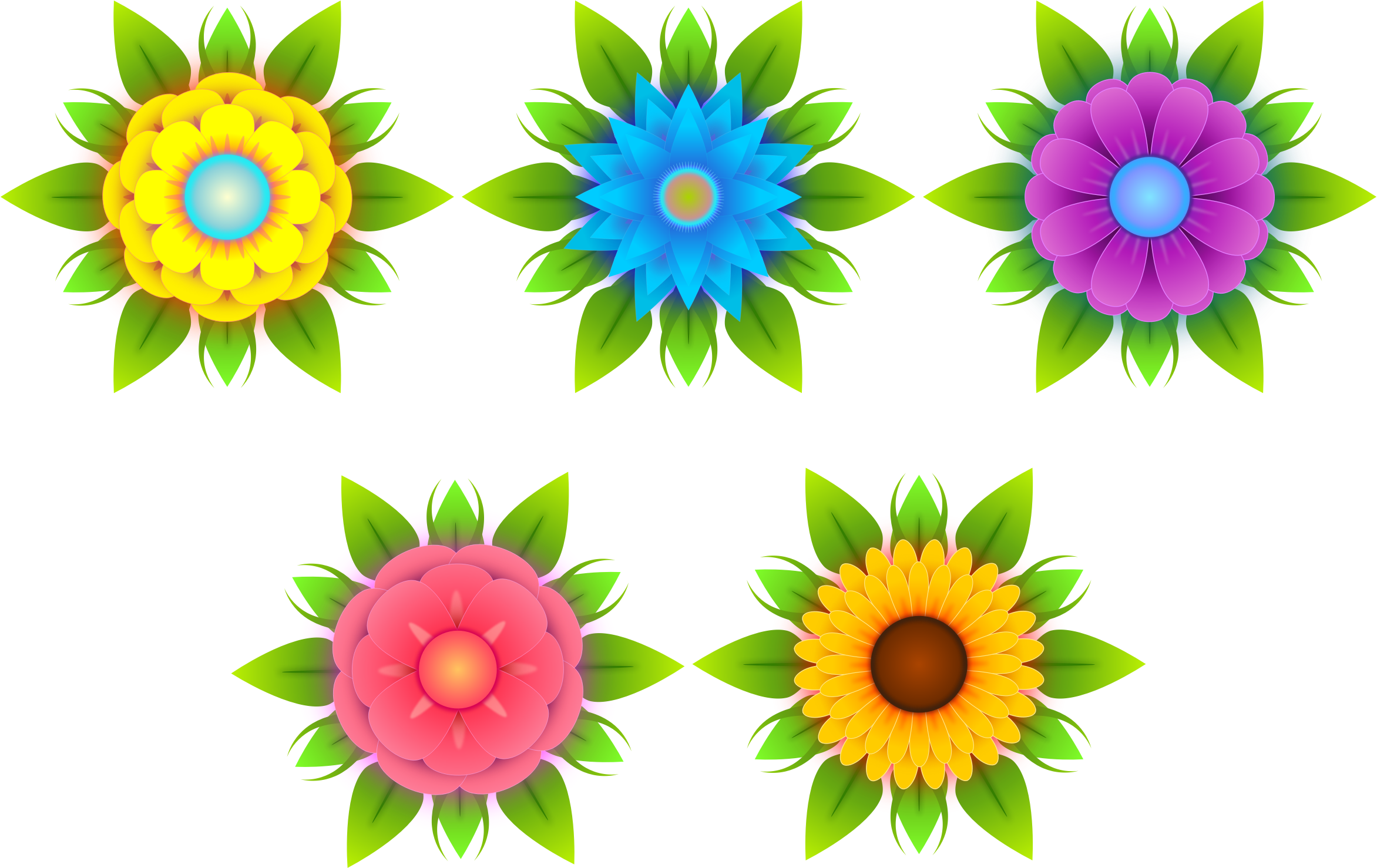 Nature clipart flower. Flowers big image png