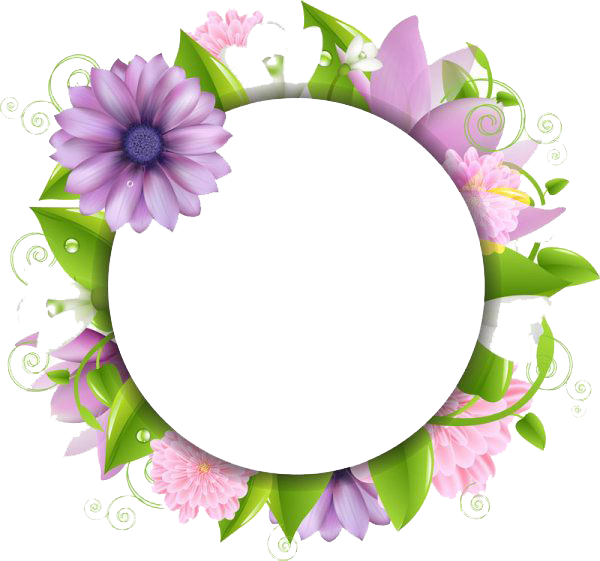 Flower borders png.  flowers picture
