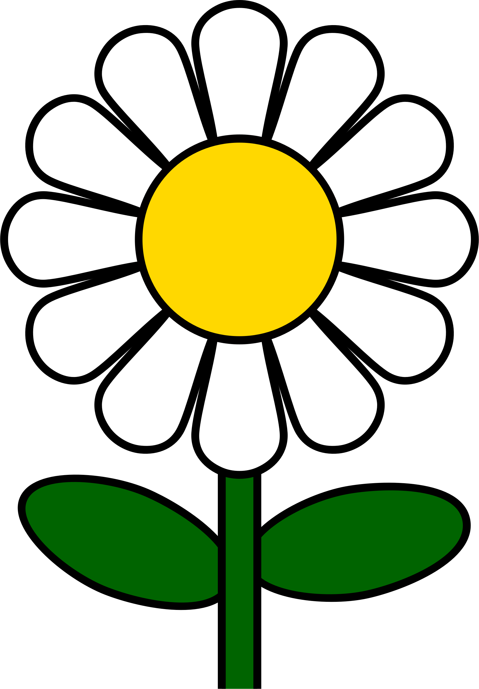 Clipart flowers daisy. Png templates silhouettes stencils