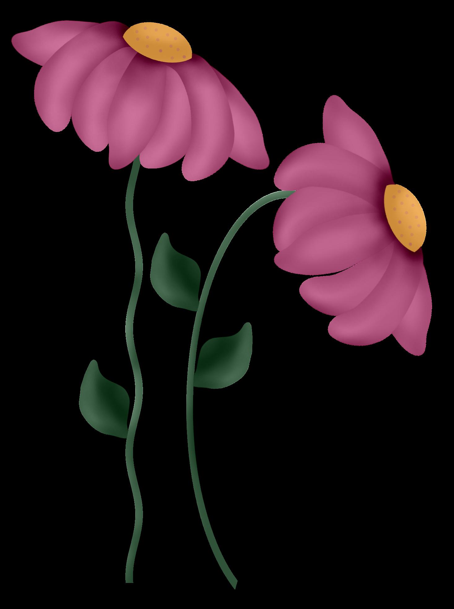 Flower clipart scrapbook.  a dff f