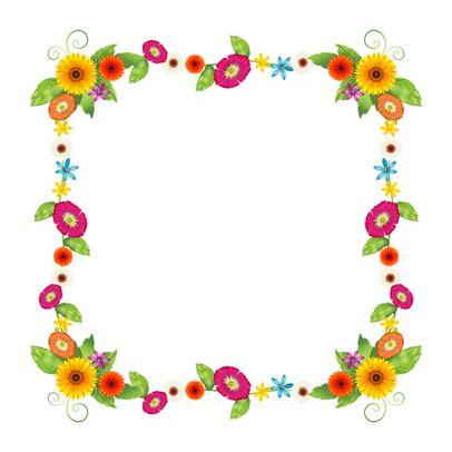 Free cliparts frame download. Frames clipart flower