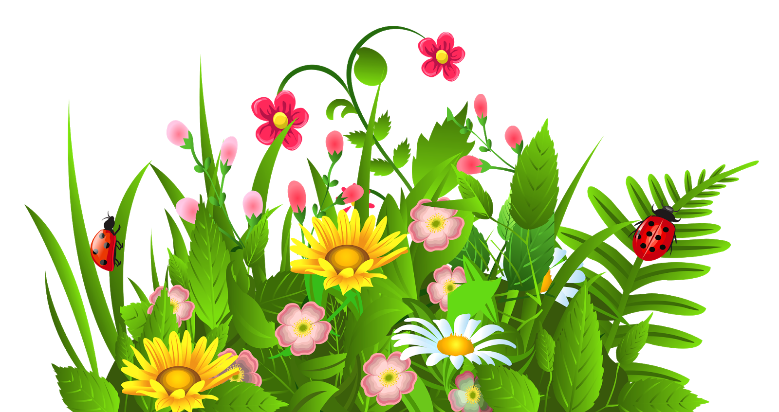 Free flower garden cliparts. April clipart tulip