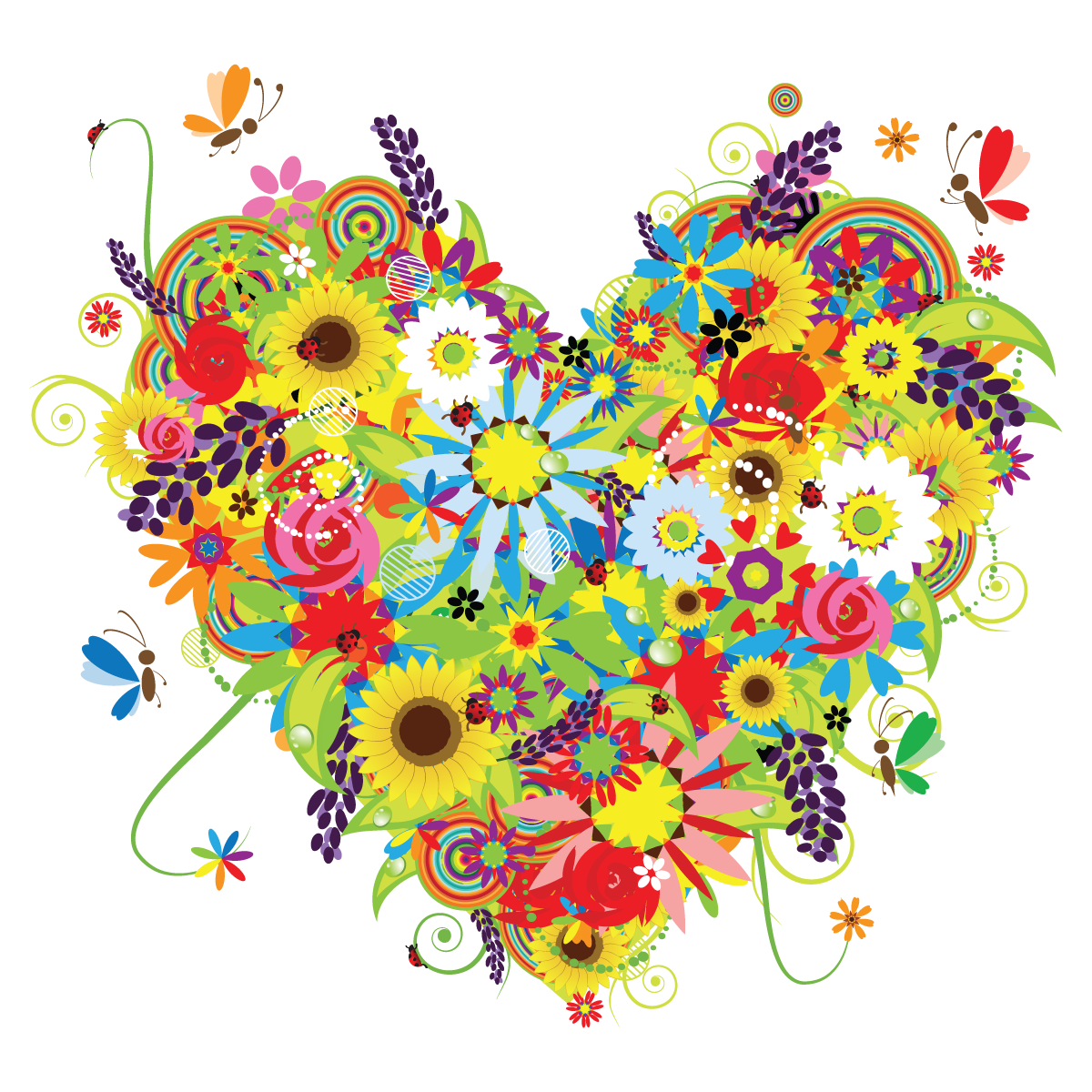 Raffle clipart mothers day. Flowers collection clipartix