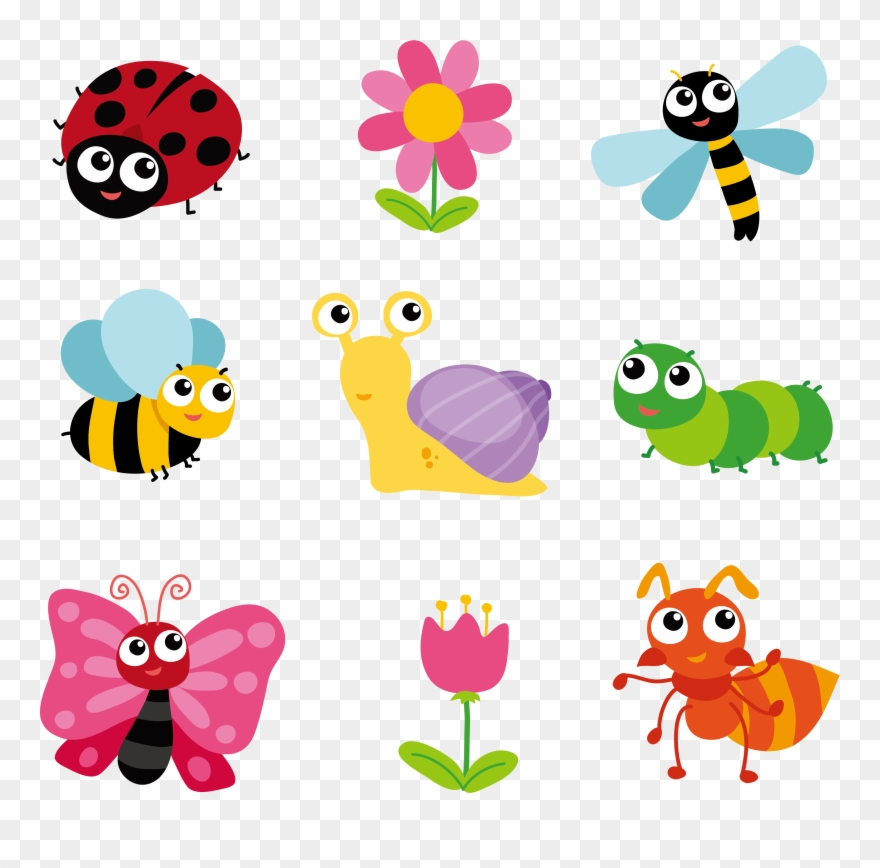 Png download pinclipart . Clipart flowers insect