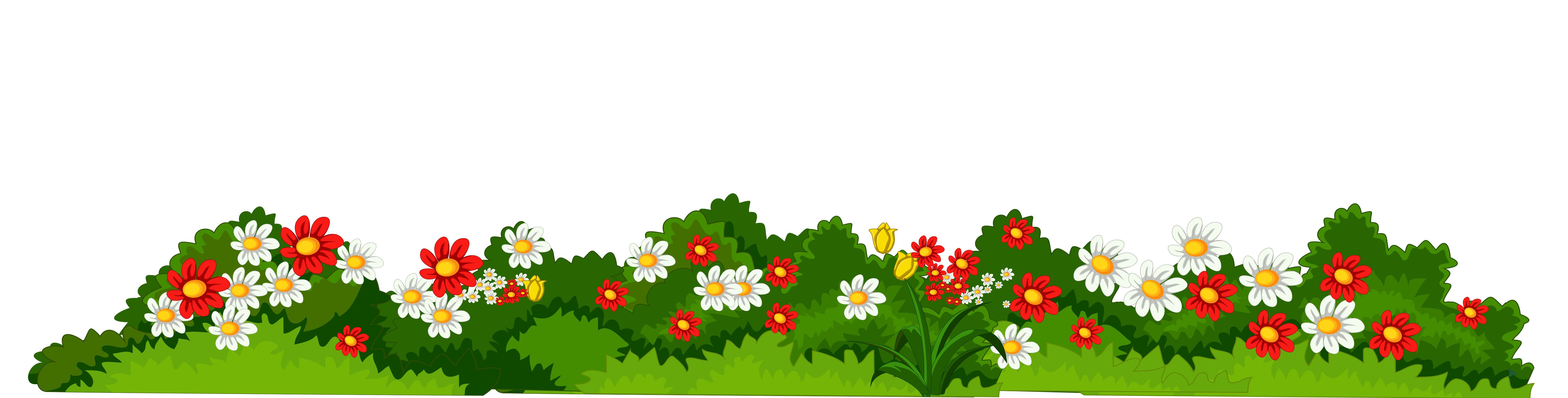 Flowers with transparent png. Clipart grass ladybug