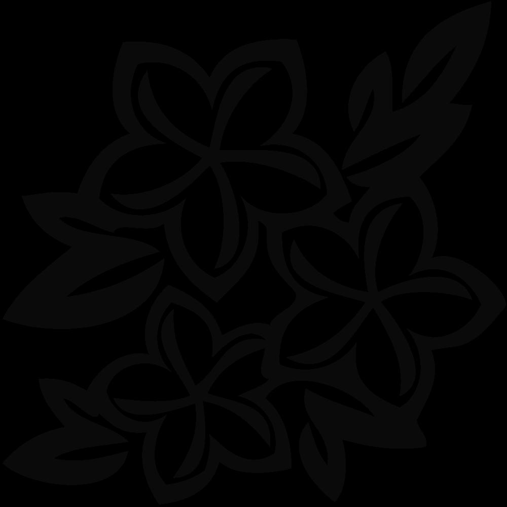 Clipart flowers ocean. Black and white often