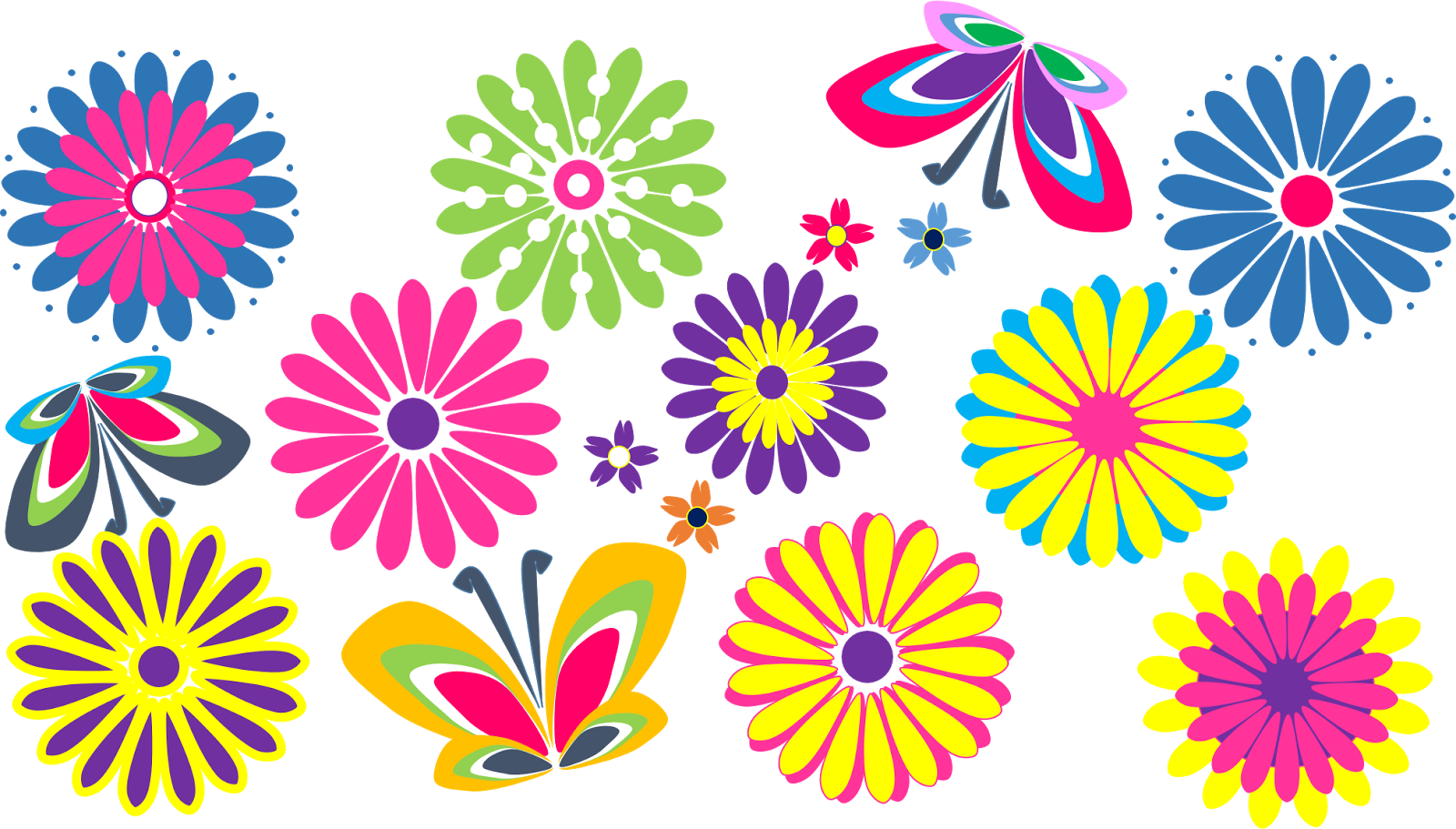 Pictures flowers clipart accents. Flower clip art png