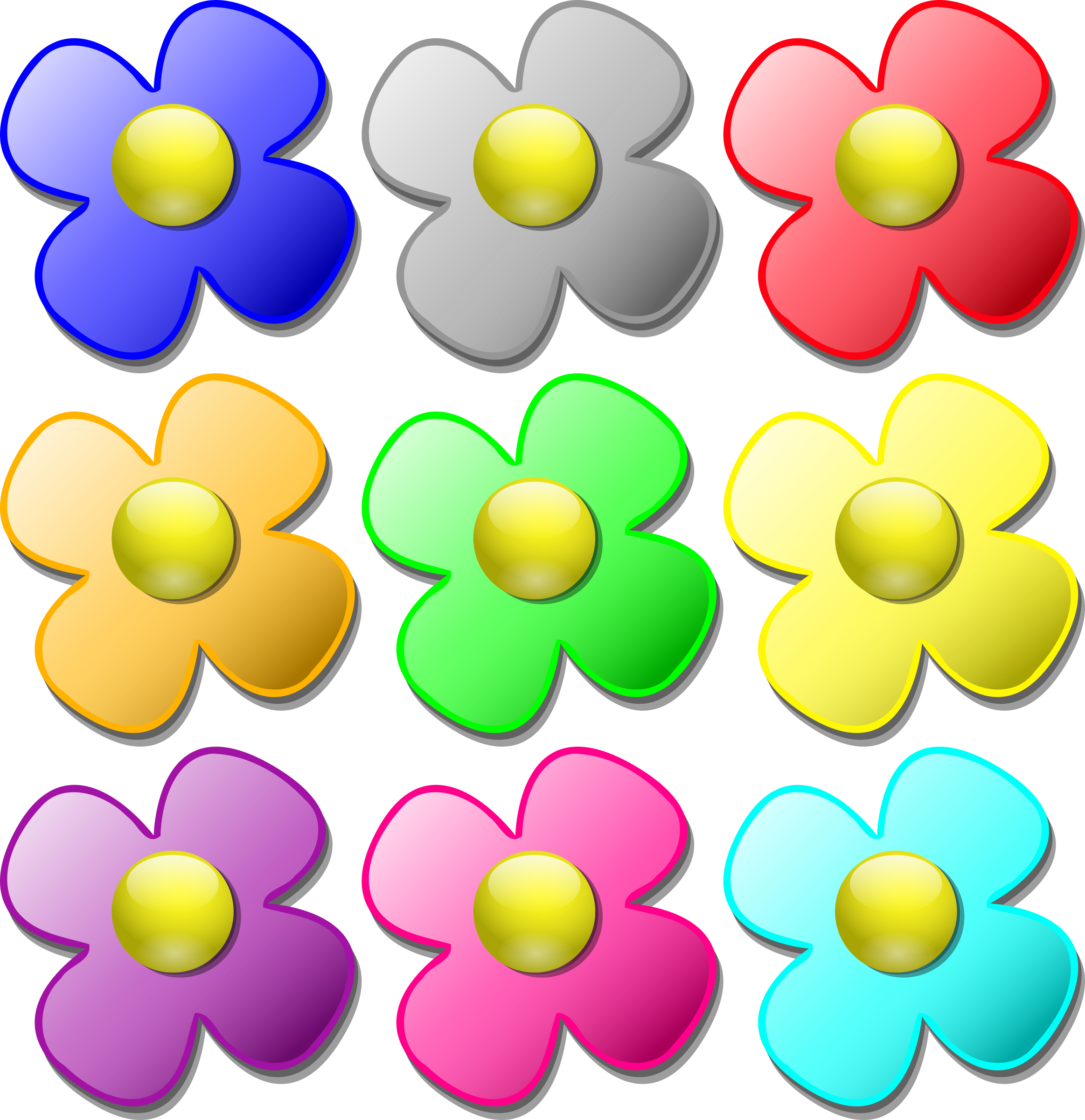 Marbles clipart transparent. Game flowers big image