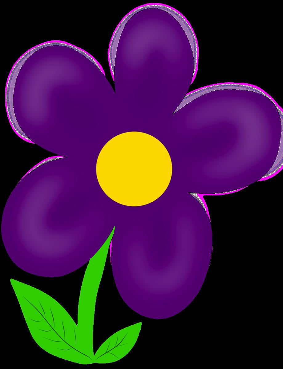 Clip art many. Clipart flowers purple