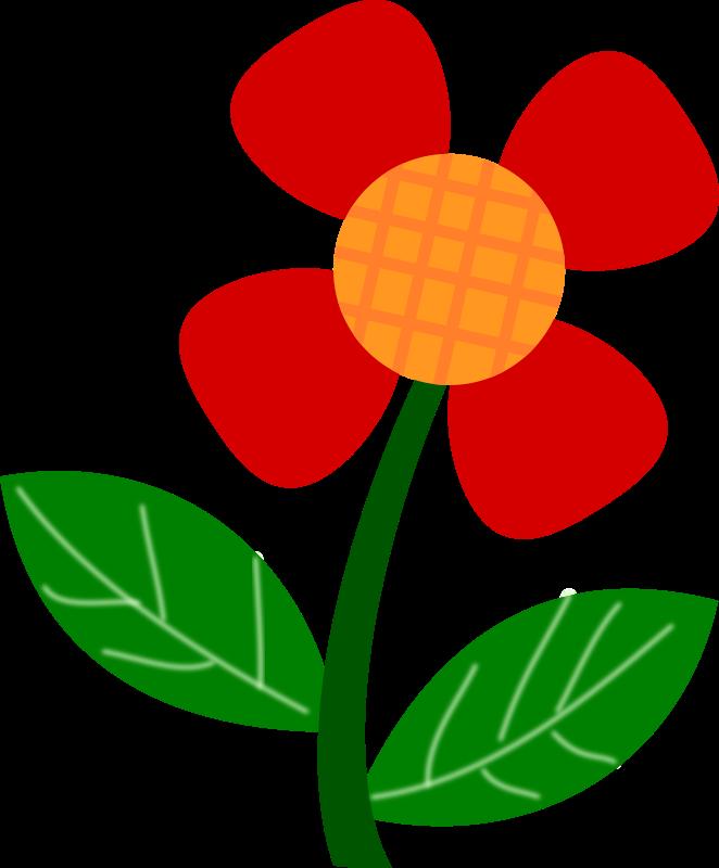 Red medium image png. Mayflower clipart flower cart