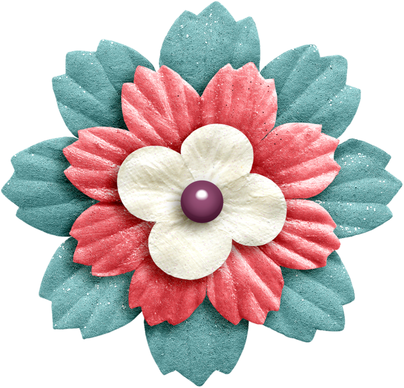 Flower clipart scrapbook. Png flowers scrapbooking and
