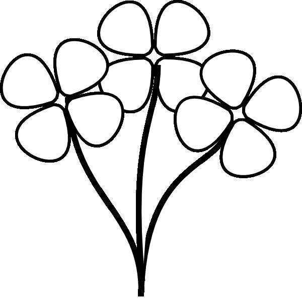 Cotton clipart cotton stem. Flower black and white