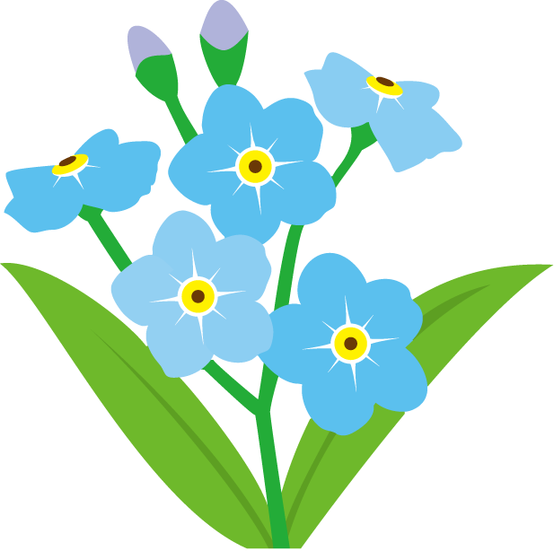 Floral clipart transparent background. Png flower images with
