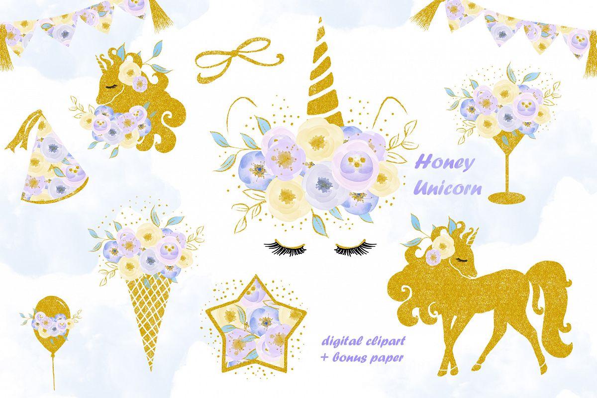 Clipart unicorn flower. Clip art flowers with