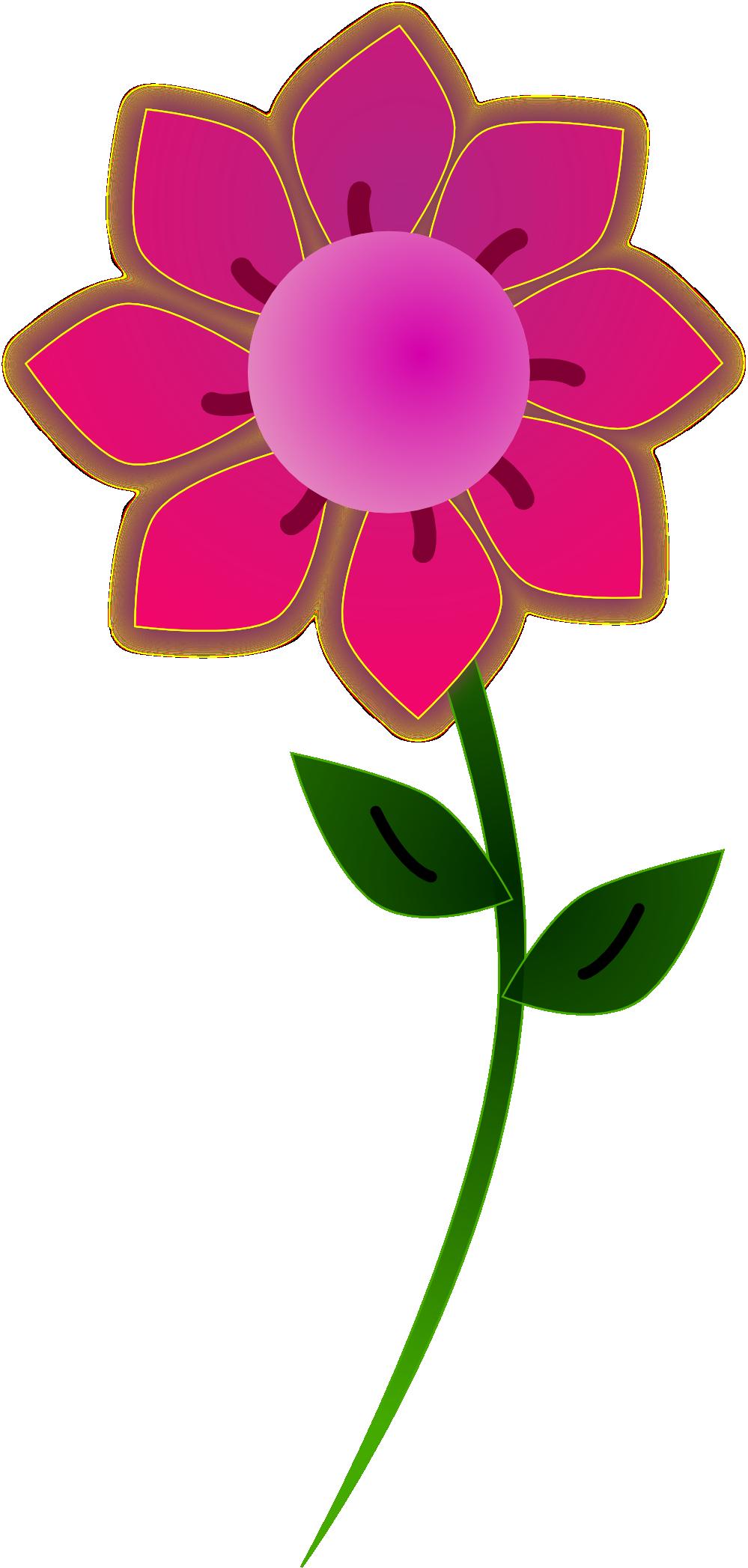 Flowers clipart beautiful. Flower clip art retro