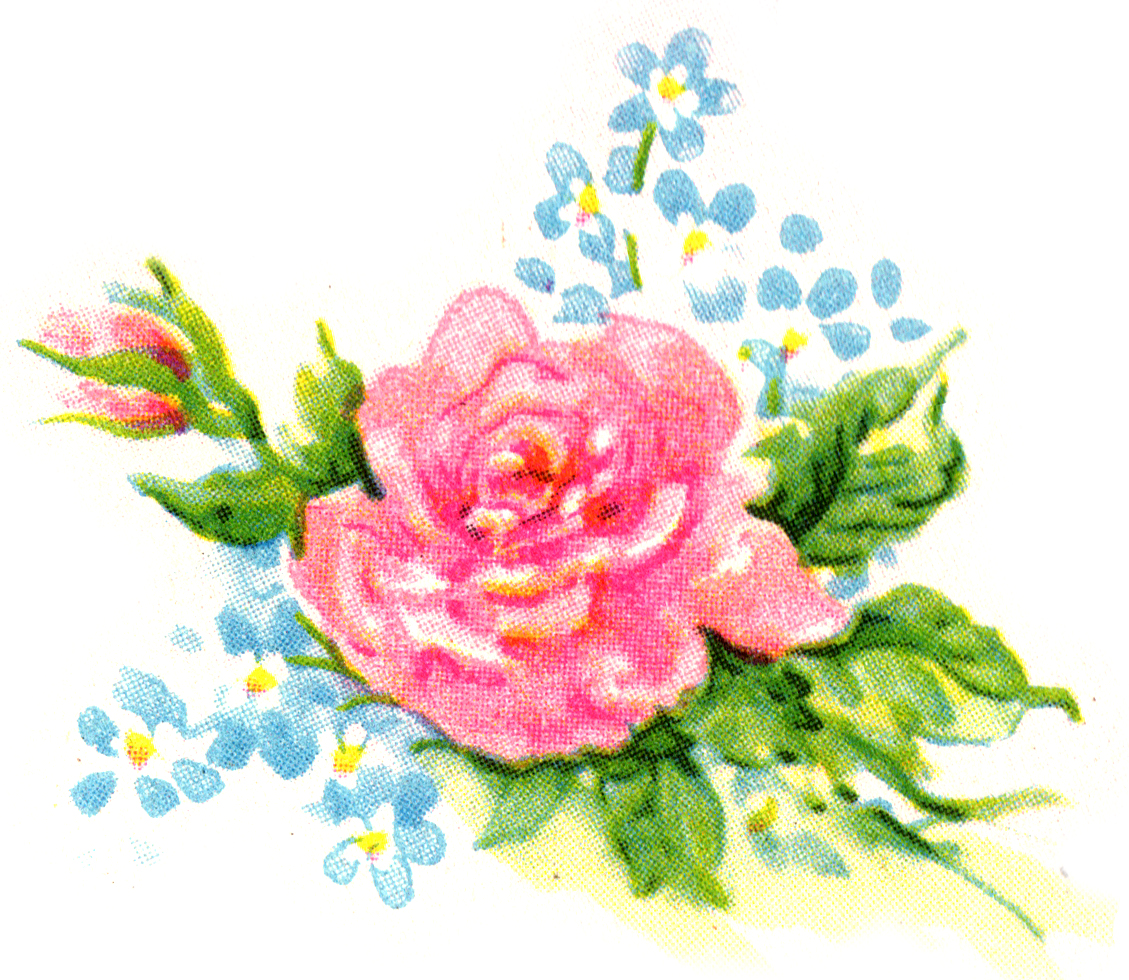 Free flower cliparts download. Clipart flowers vintage