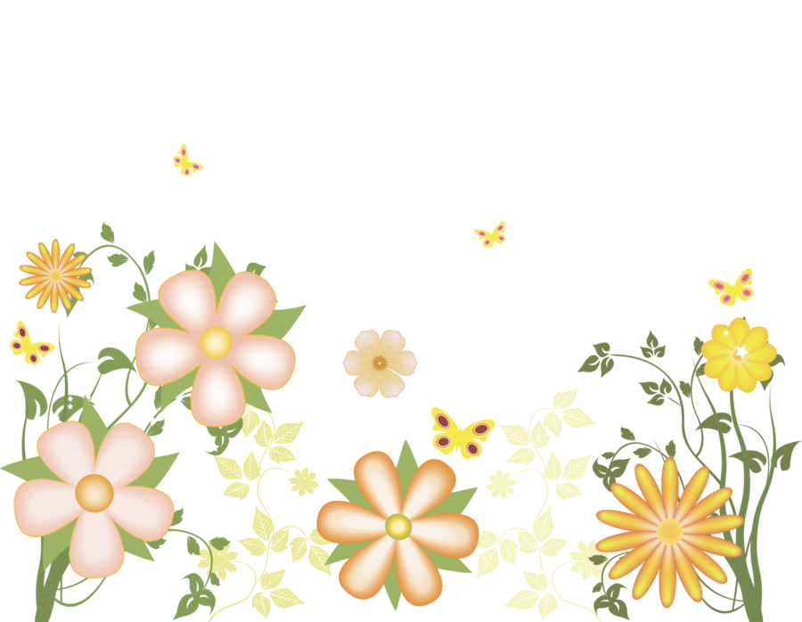 Yellow flowers gallery yopriceville. Free clipart transparent