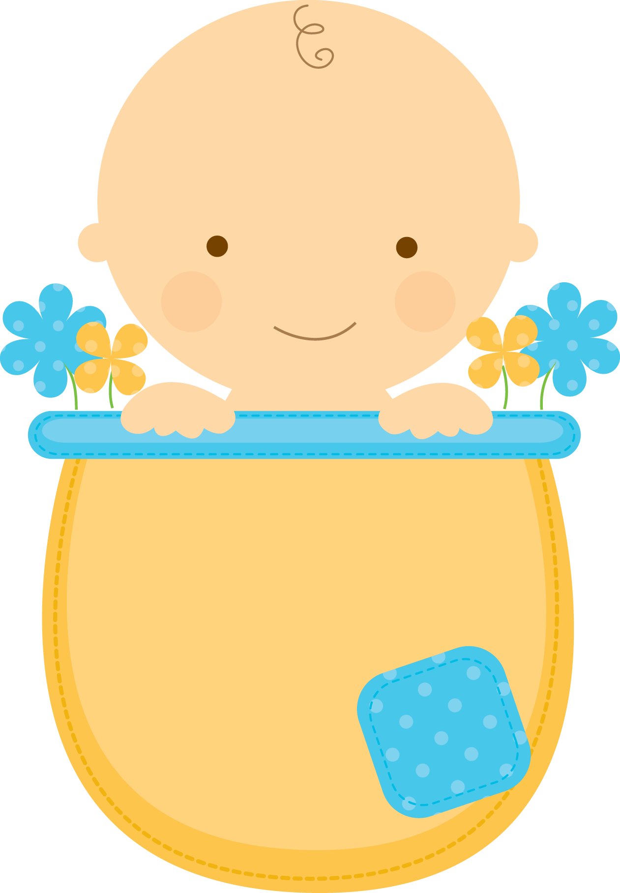 Tree clipart baby shower. Flowerpot babies babyinflowerpot boy