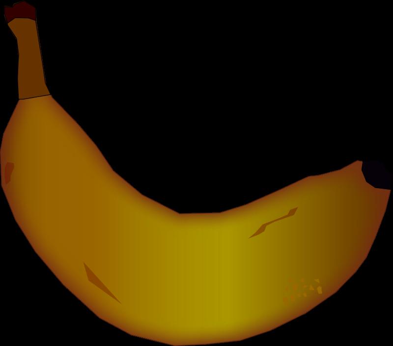 Pear clipart rotten. Banana medium image png