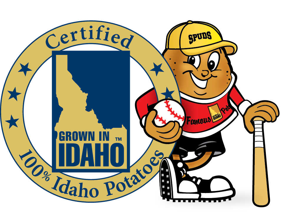 Foods clipart baseball. Idaho potato commission