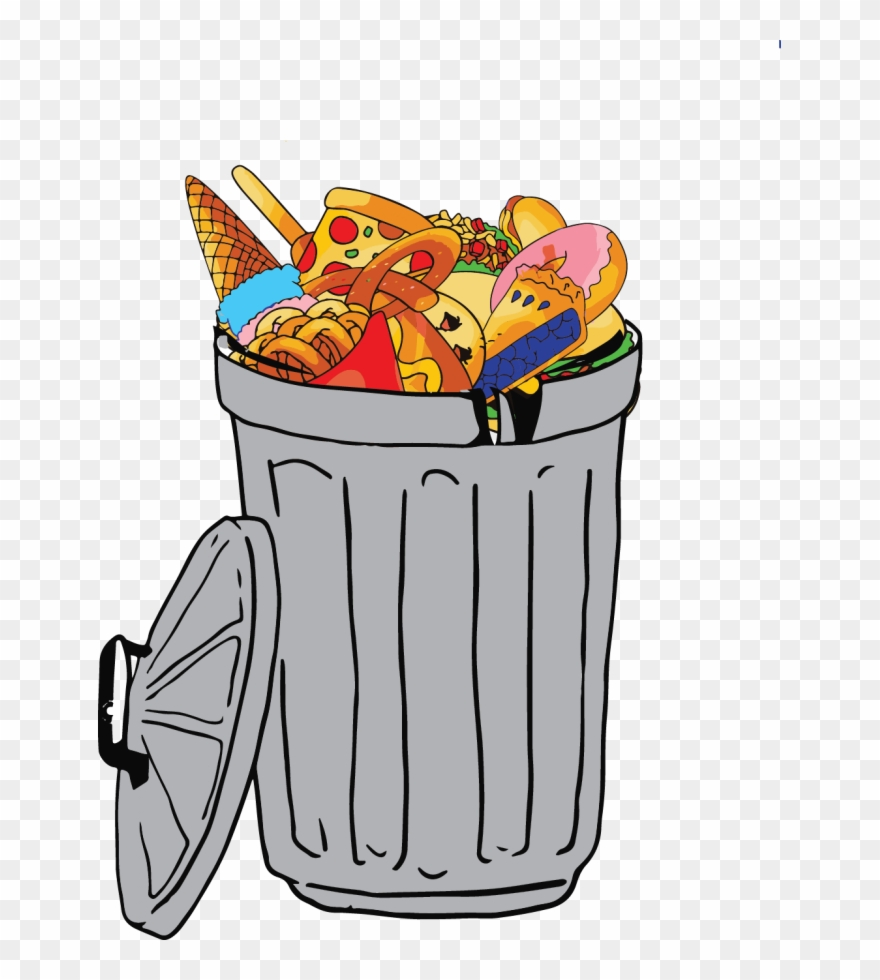 Colleges make effort to. Food clipart rubbish