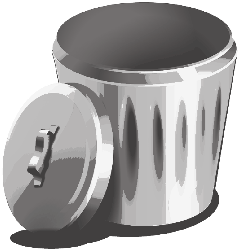 Pencil clipart bin. Garbage transparent png pictures