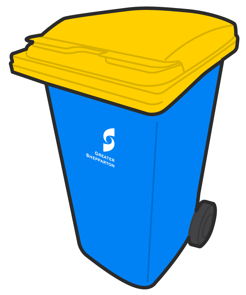 Garbage clipart plastic wrapper. Yellow lid bin recycle