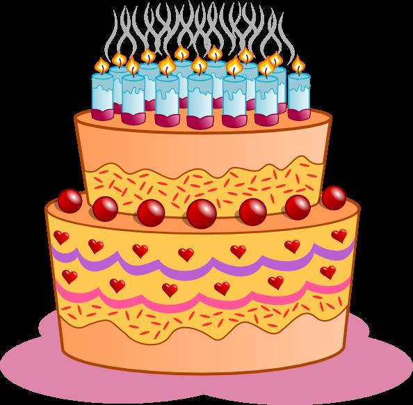 Clipart food birthday. Happy cakes clip art