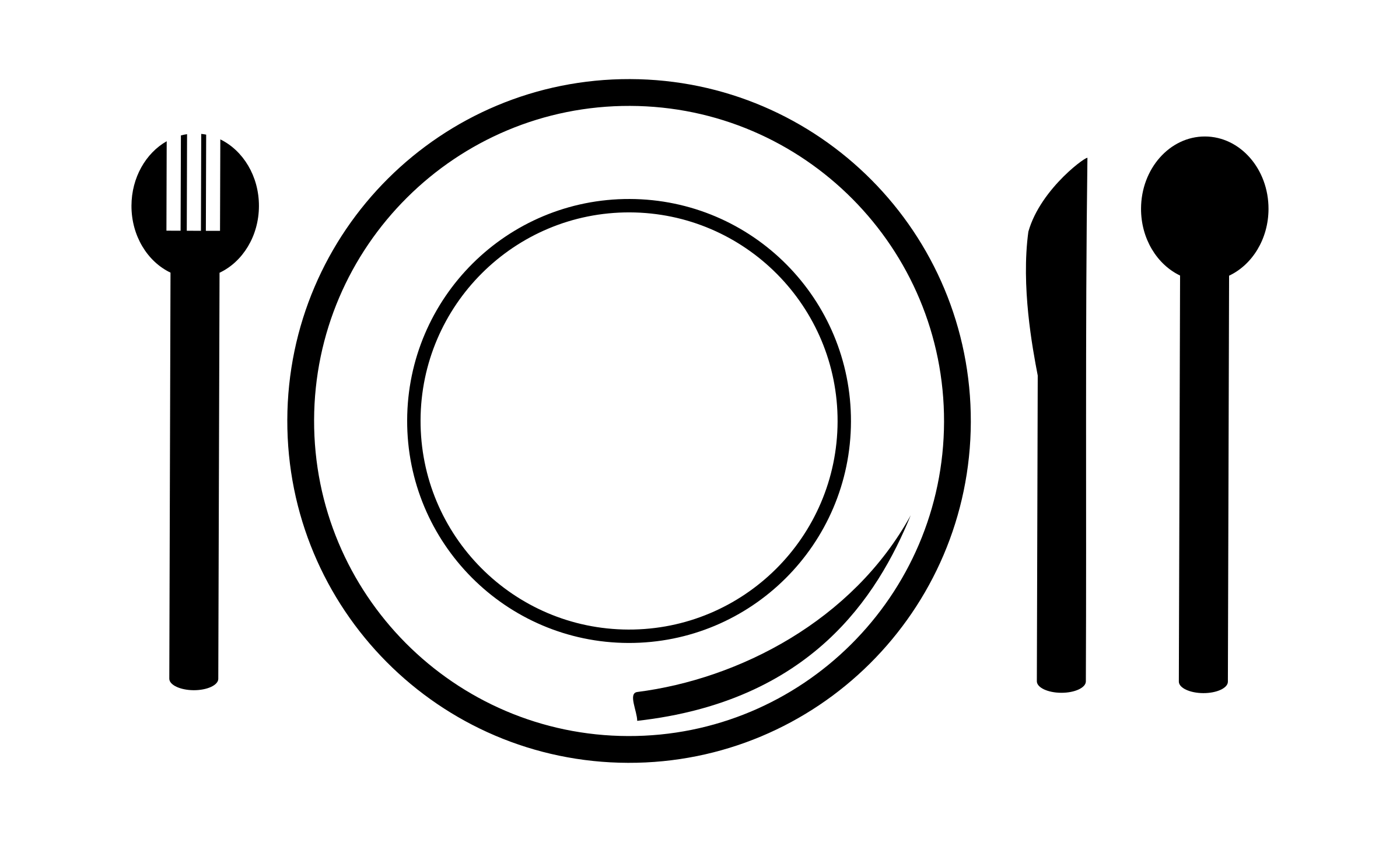 Dishes circle plate