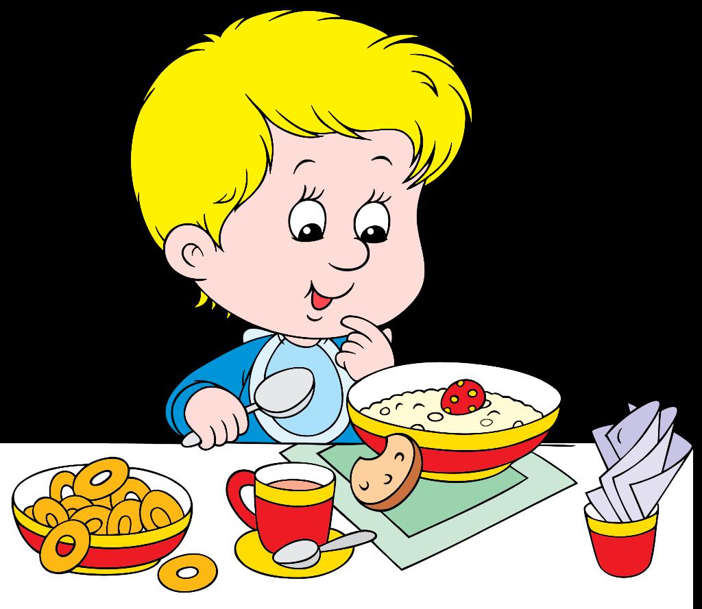 Healthy menu jaw dropping. Food clipart breakfast