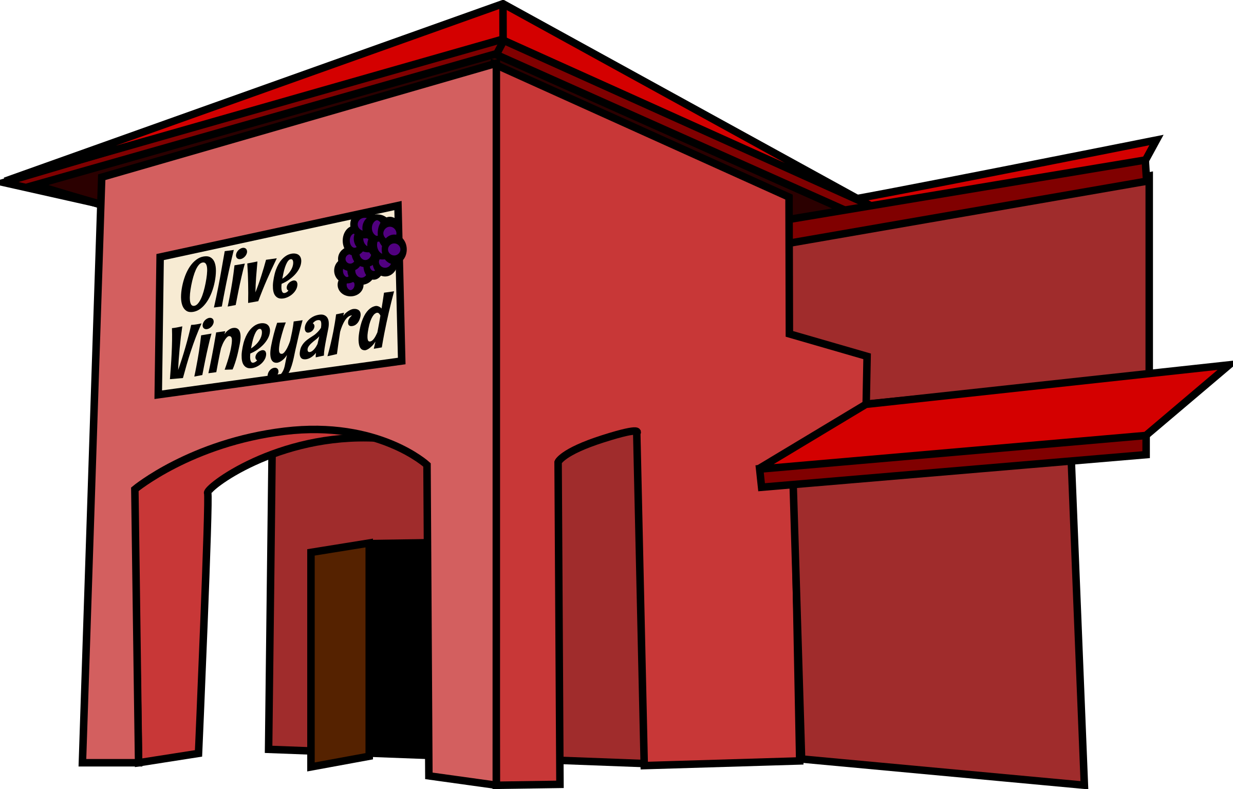 Outside clipart exterior.  collection of restaurant