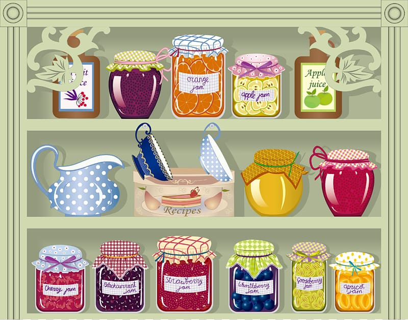 Pantry transparent background png. Food clipart cupboard