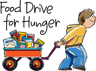 Clipart food charity. Free can images download