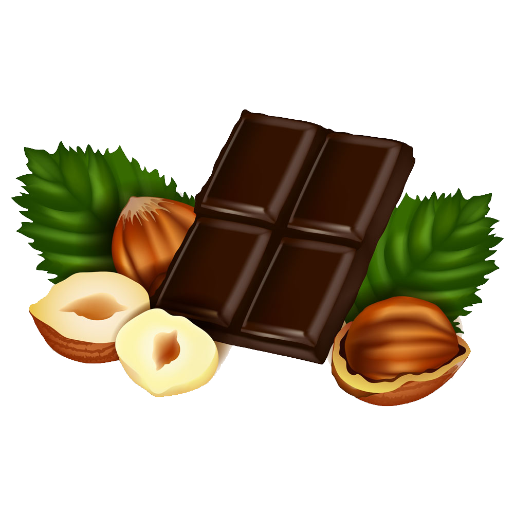 Fast food chocolate clip. Nut clipart hazelnut