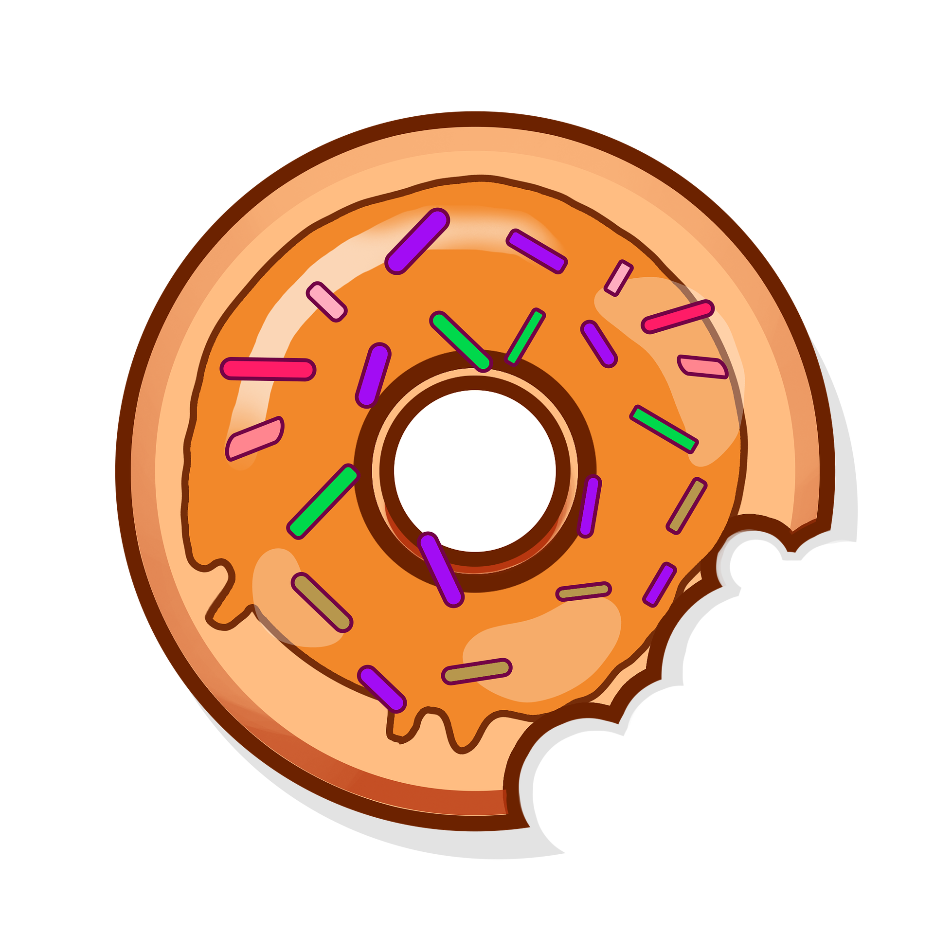 Donuts clipart green. Eat sugarboy donutpng