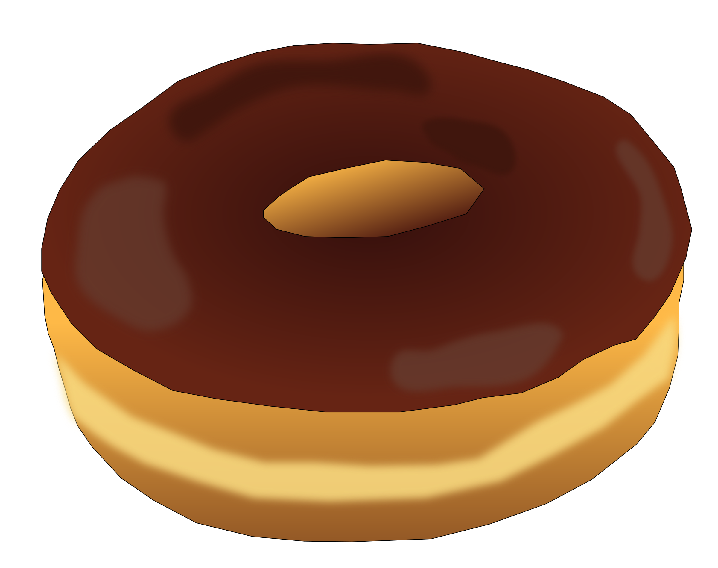 Plain big image png. Donut clipart red