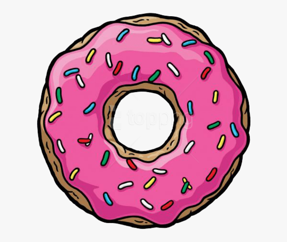 Donut clipart bitten donut. Download photo toppng transparent