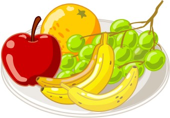 Fruit clipart food. Free cliparts download clip