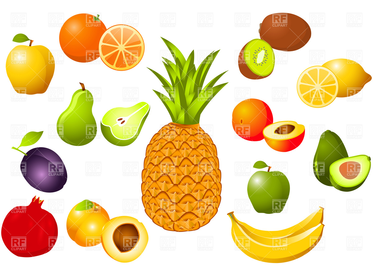 Fruit clipart food. Free fruits picture download