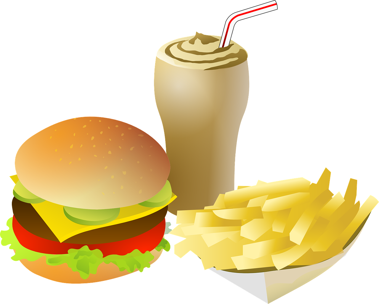 French clipart animated.  chips fries images