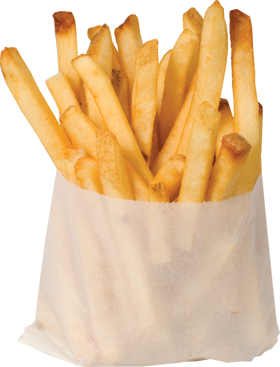 French fried dimensional clash. One clipart fry