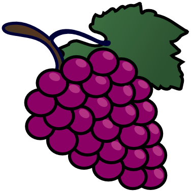 Cartoon grapes index of. Grape clipart fruit